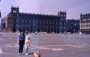 Mexiko city, Zocalo főtér